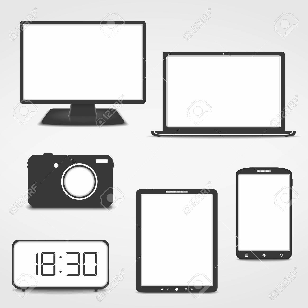 Electronics Icons Stock Vector - 22448666
