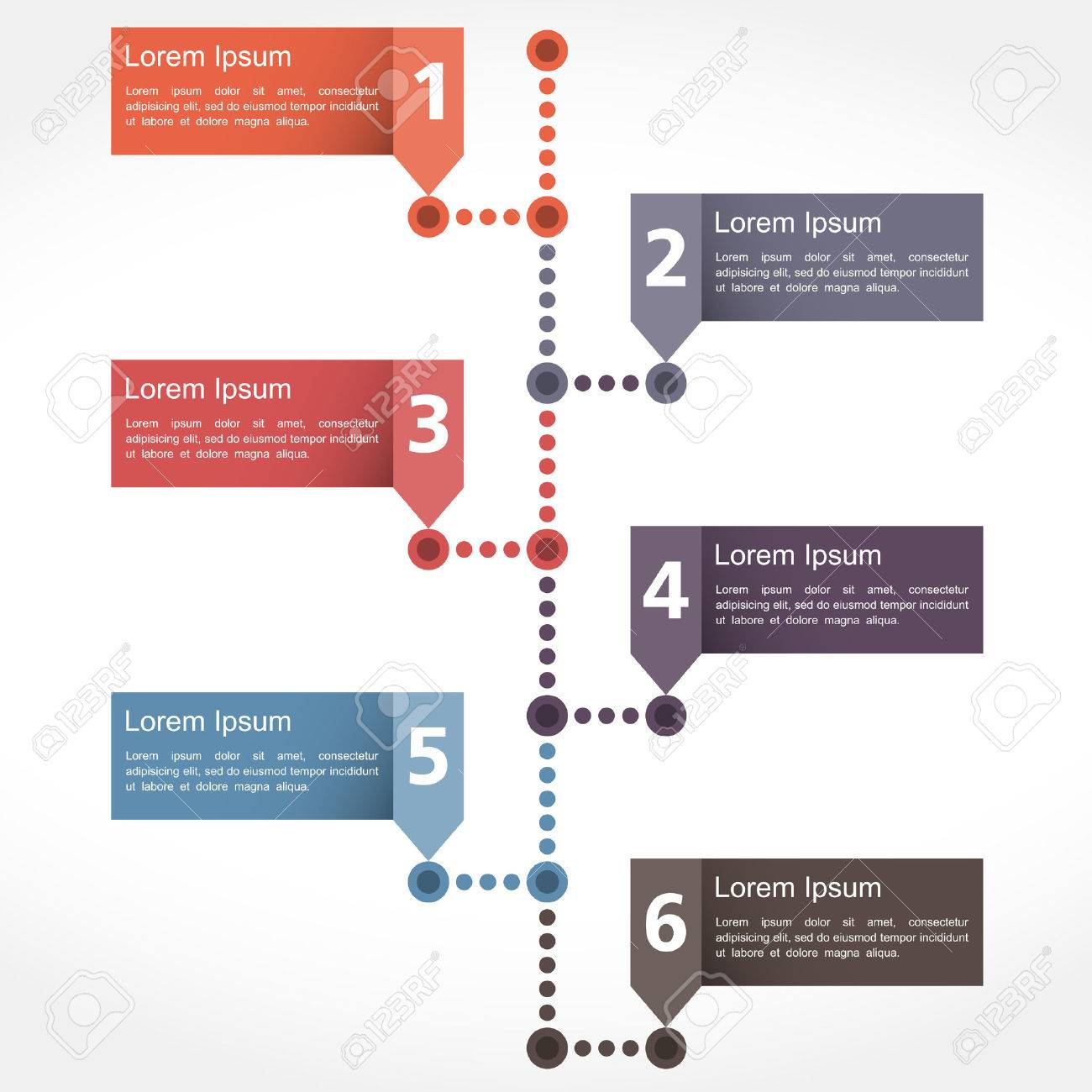 Timeline Design Template Royalty Free Cliparts Vectors And Stock - Timeline design template