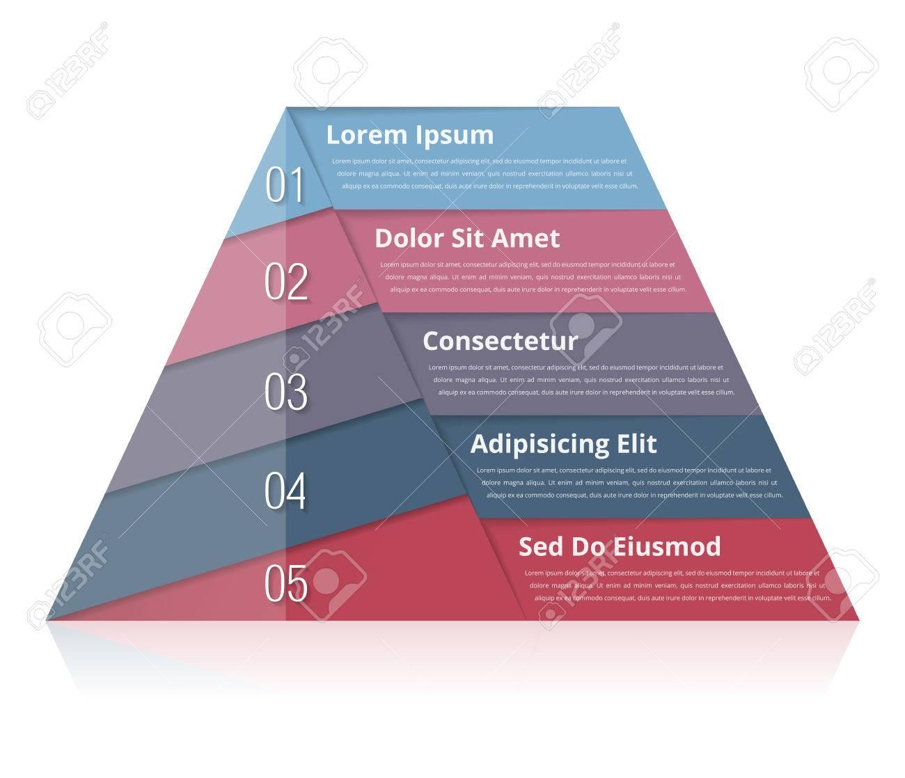 pyramid diagram template