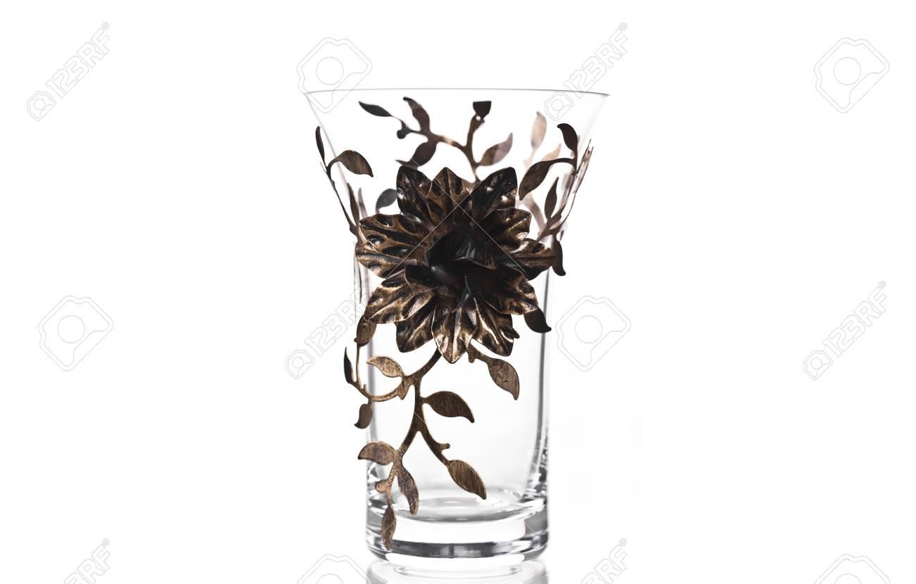 Leeres Glas Behalter Schmuck Blumen Lizenzfreie Fotos Bilder Und