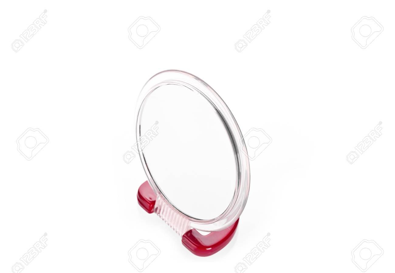 Make Up Spiegel : Make up spiegel isoliert auf weiß lizenzfreie fotos bilder und