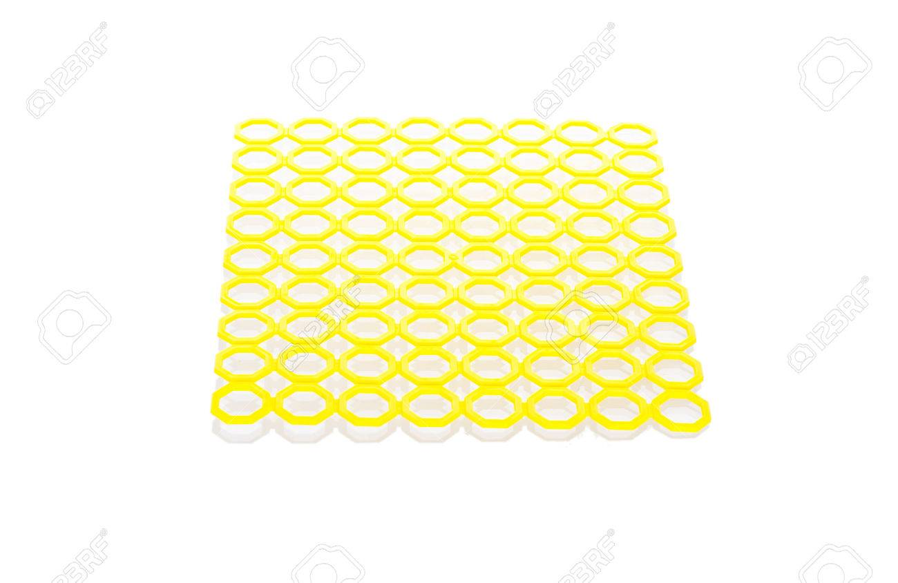 Anti slip rubber mat for bathroom or wet area Stock Photo - 24066916