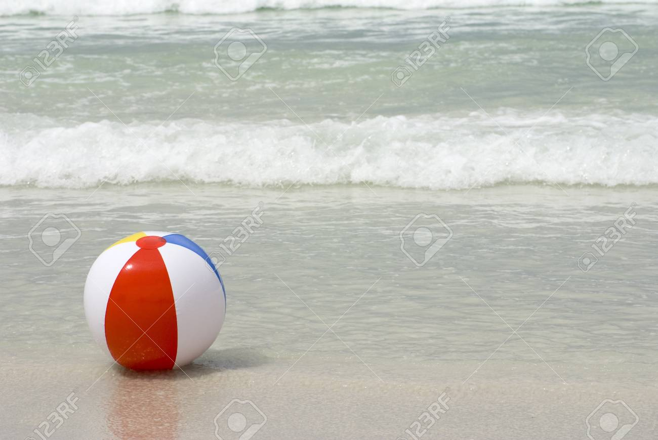 Beach ball in ocean Tumblr Colorful Beach Ball In The Ocean Surf Stock Photo 13002226 Shutterstock Colorful Beach Ball In The Ocean Surf Stock Photo Picture And