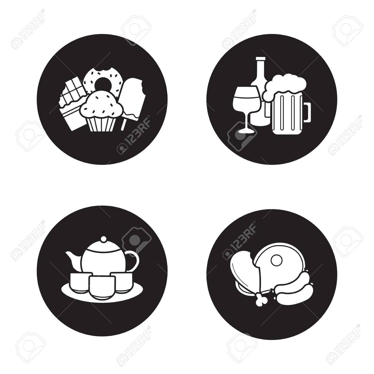 Grocery store products black icons set confectionery alcohol grocery store products black icons set confectionery alcohol beverages chinese tea ceremony set buycottarizona Choice Image
