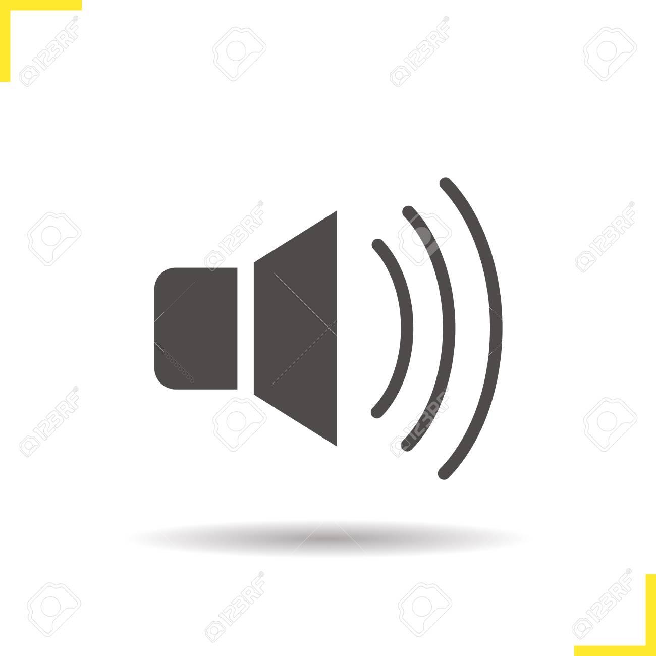Loudspeaker Symbol - Dolgular.com