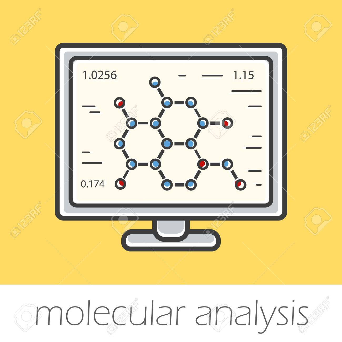 物質の分子構造研究色のアイコン...