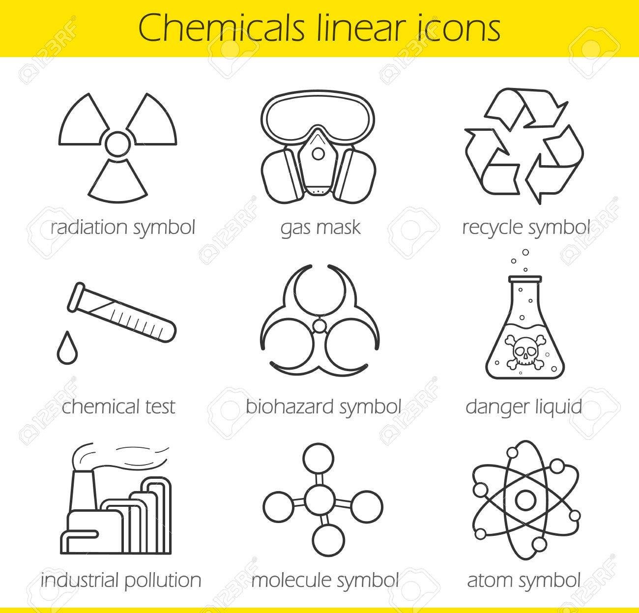 Laboratory equipment chemical industy gas mask recycle symbol laboratory equipment chemical industy gas mask recycle symbol chemical test tube buycottarizona