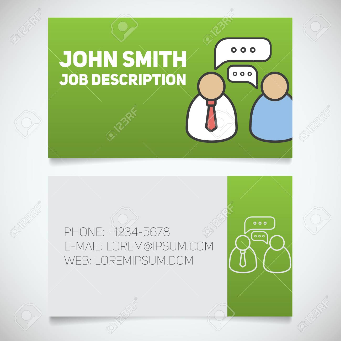 Business card print template with interview logo easy edit business card print template with interview logo easy edit manager journalist reporter colourmoves