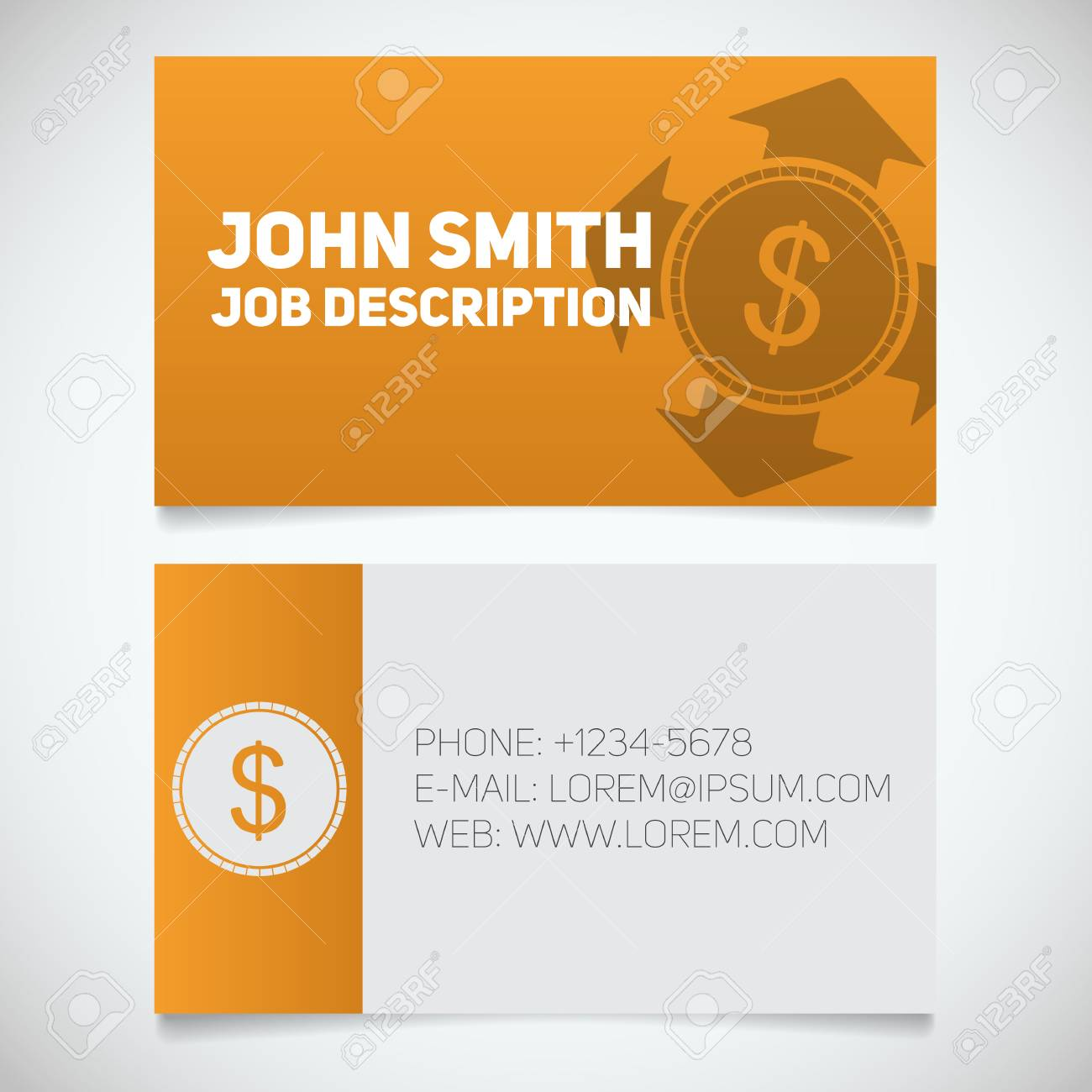 Business card print template with money spending logo easy edit business card print template with money spending logo easy edit manager accountant reheart Choice Image