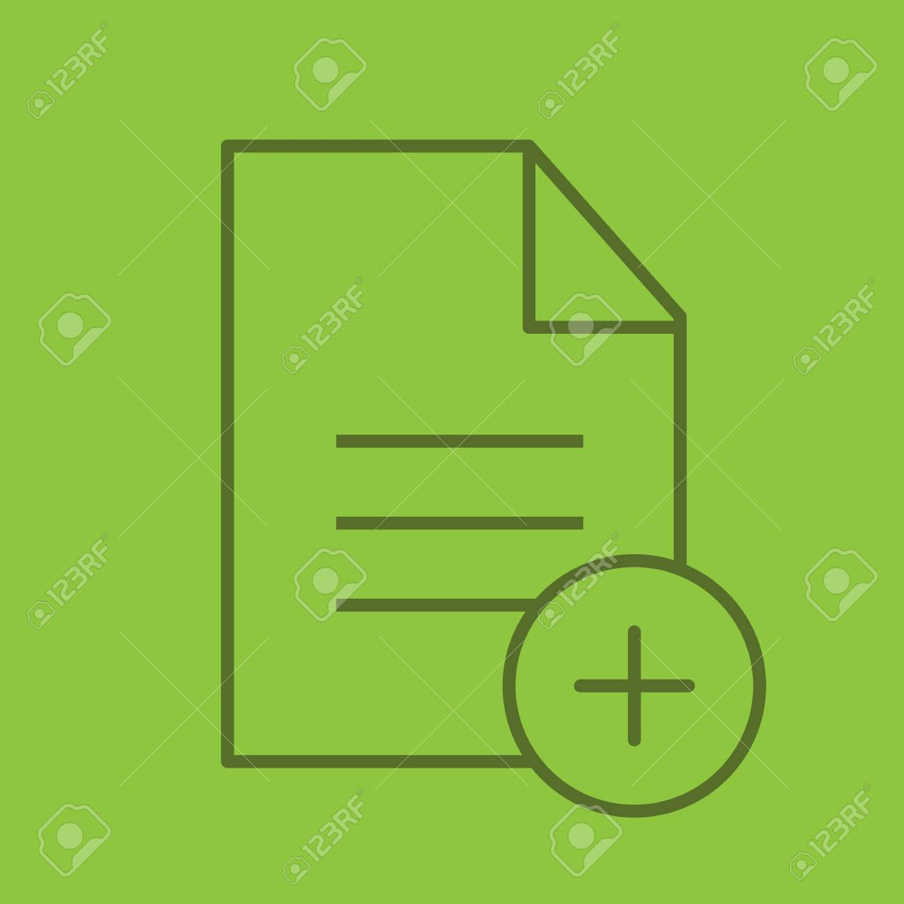 Add new document linear icon document with plus sign thin line document with plus sign thin line outline symbols on biocorpaavc Choice Image