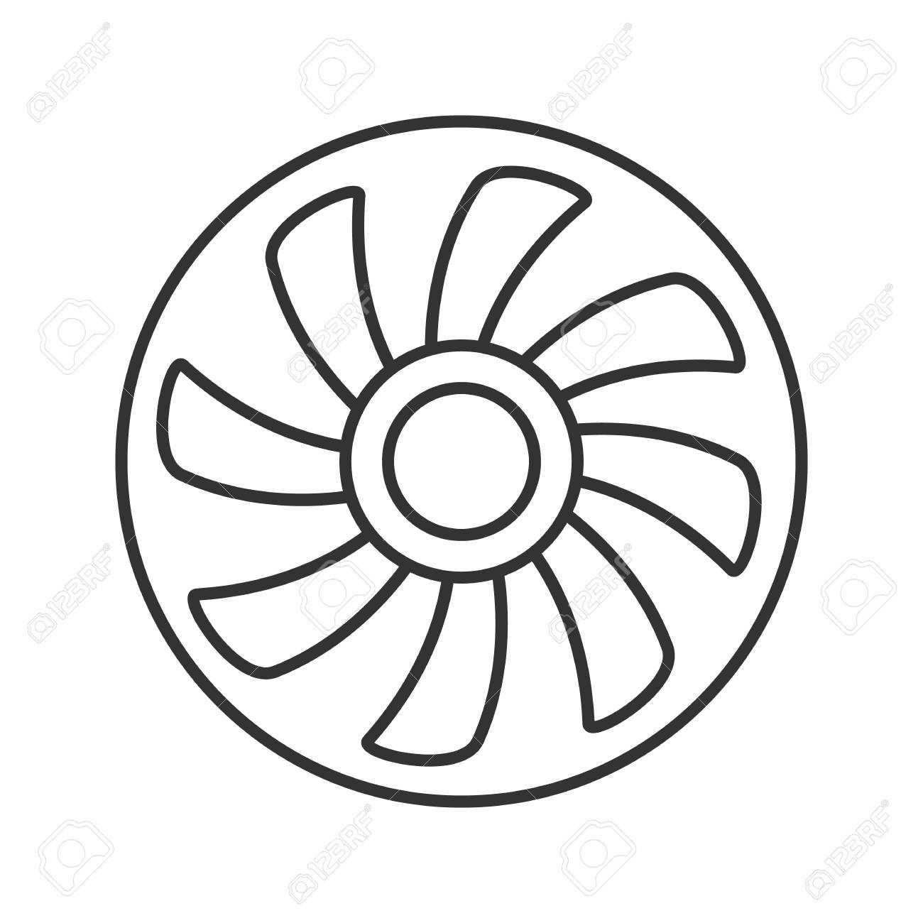 Vent Fan Symbol Free Download Playapk