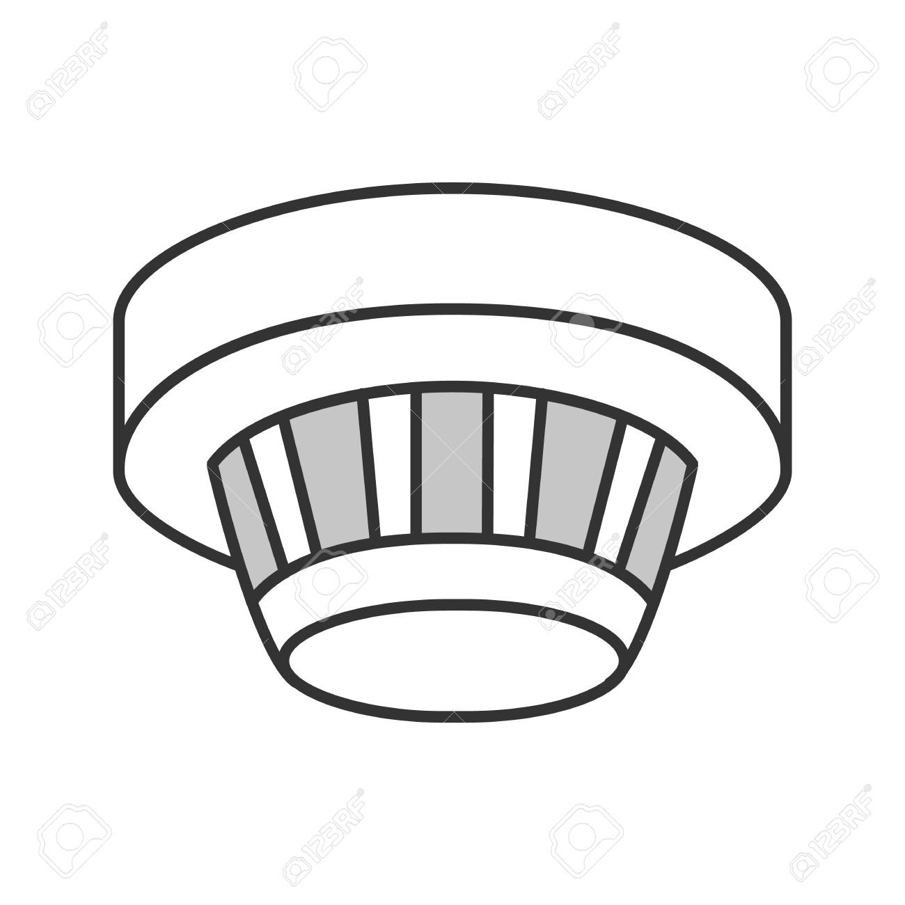 Fire Alarm System Icons Set. Royalty Free Cliparts, Vectors, And Stock  Illustration. Image 134946077.