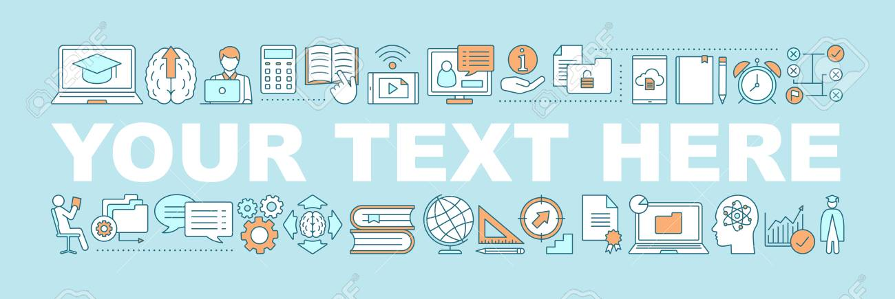 Self Education Word Concepts Banner Business Development Skill Royalty Free Cliparts Vectors And Stock Illustration Image 106706739