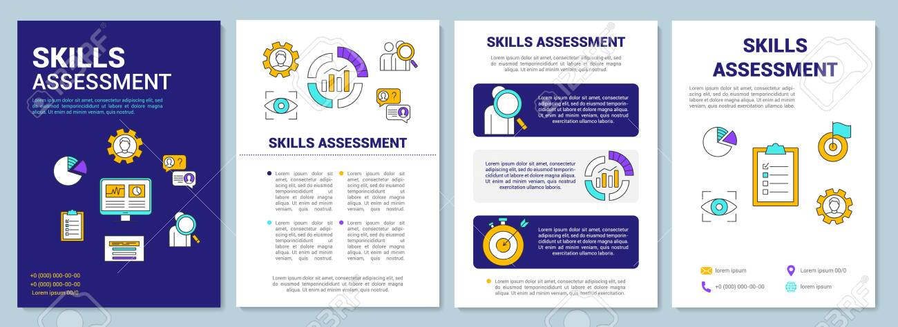 Skills Assessment Blue Brochure Template Layout Flyer Booklet Royalty Free Cliparts Vectors And Stock Illustration Image 129557780 | find, read and cite all the research you need on researchgate. skills assessment blue brochure template layout flyer booklet