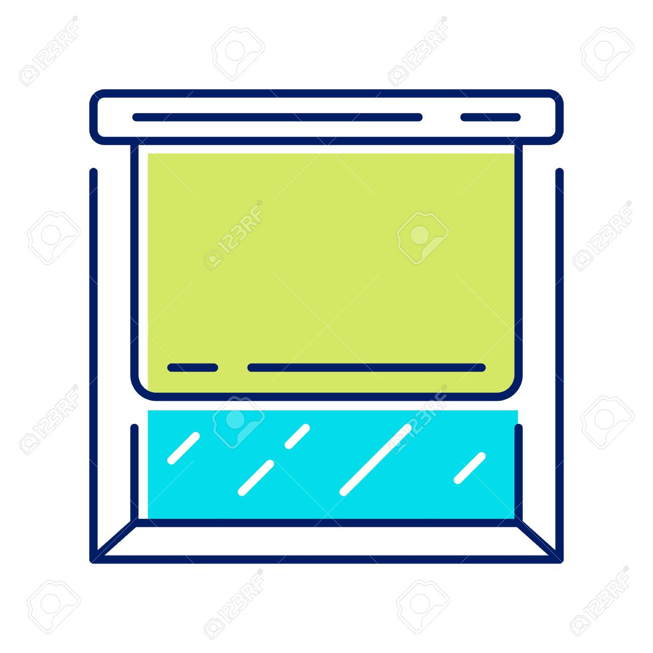 Roller Shades Color Icon Window Blinds Kitchen Room Darkening