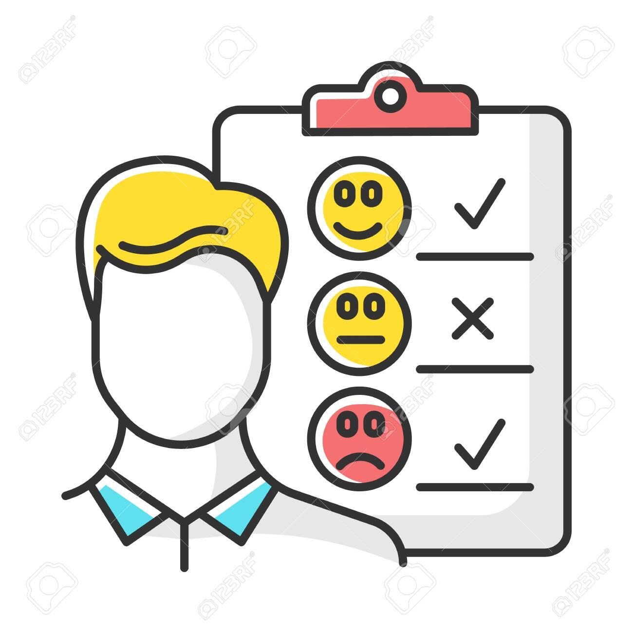 Customer service survey Clip Art   k7816179   Fotosearch