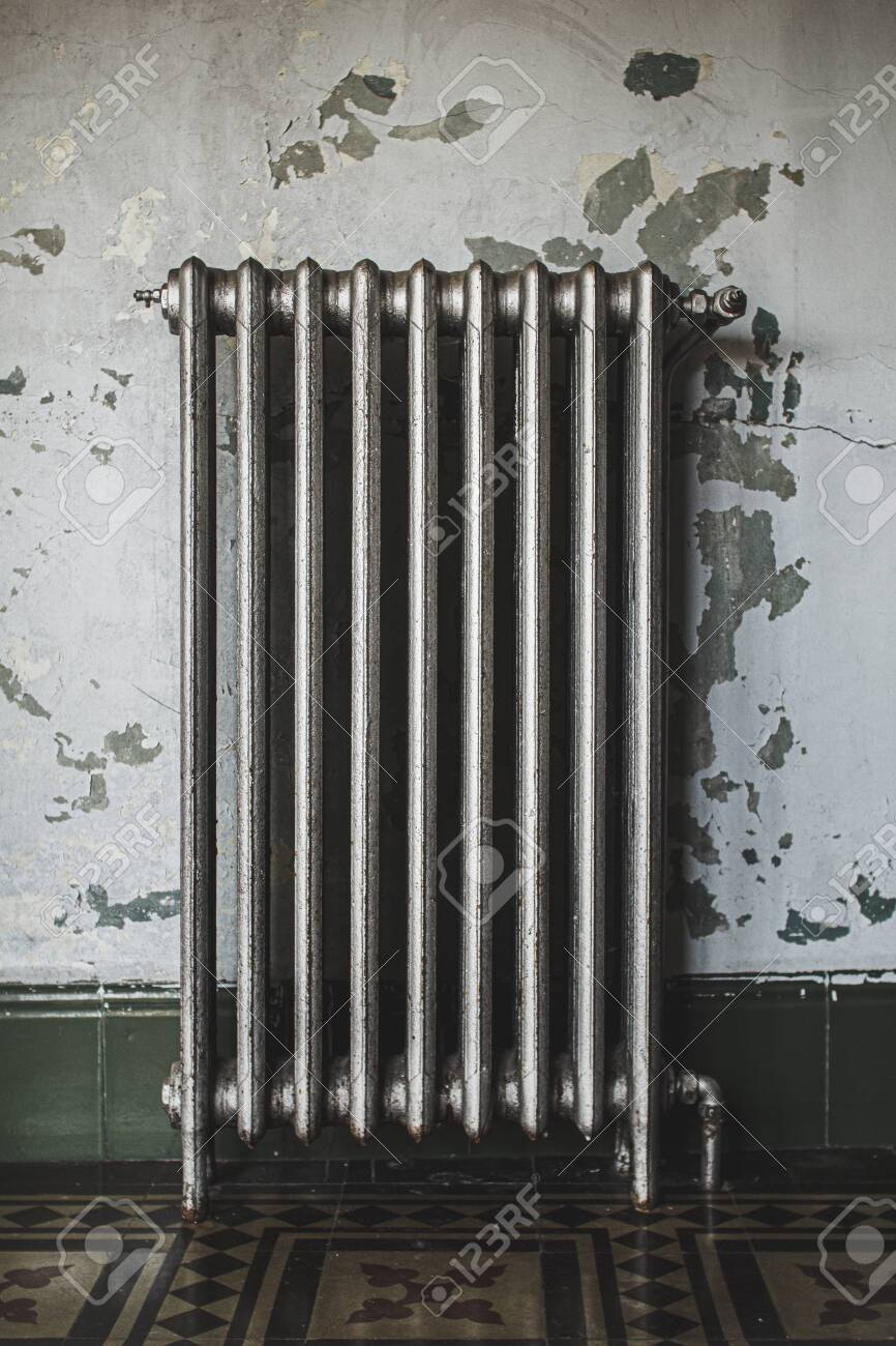 Old Radiator In Old And Ruined Abandoned House Stock Photo Picture And Royalty Free Image Image 136596608