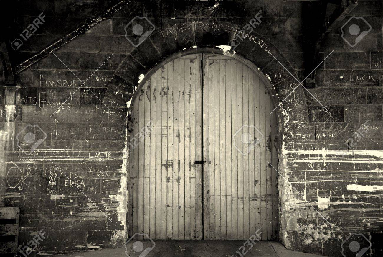 Old Factory Door Stock Photo   2021027