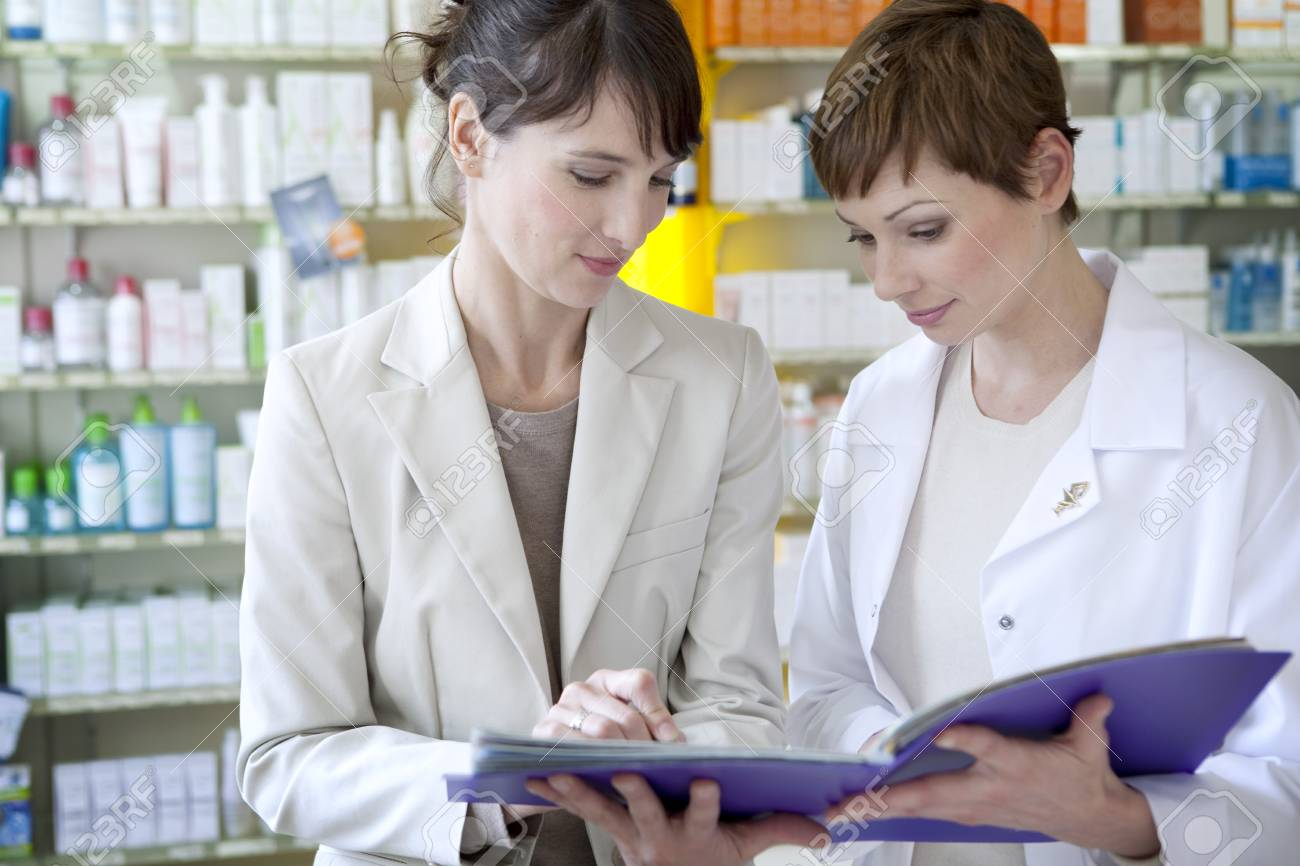 Pharmaceutical Sales Representative Stock Photo Picture And Royalty