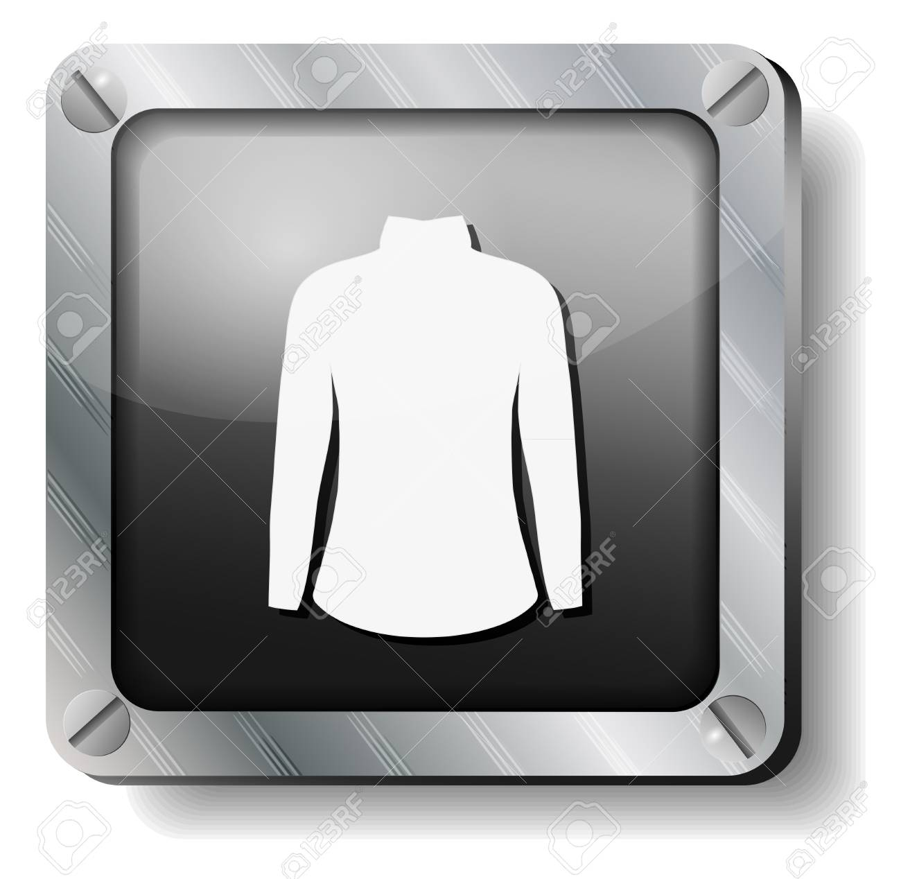 steel dress icon Stock Vector - 14988281