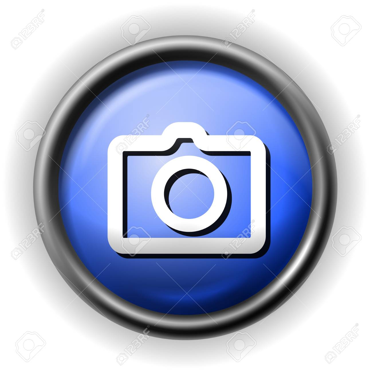 Glass photo icon Stock Vector - 16927572