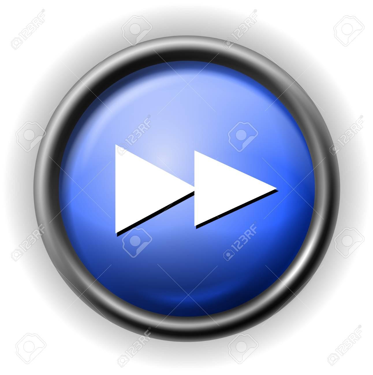 Glass rewind icon Stock Vector - 16927561