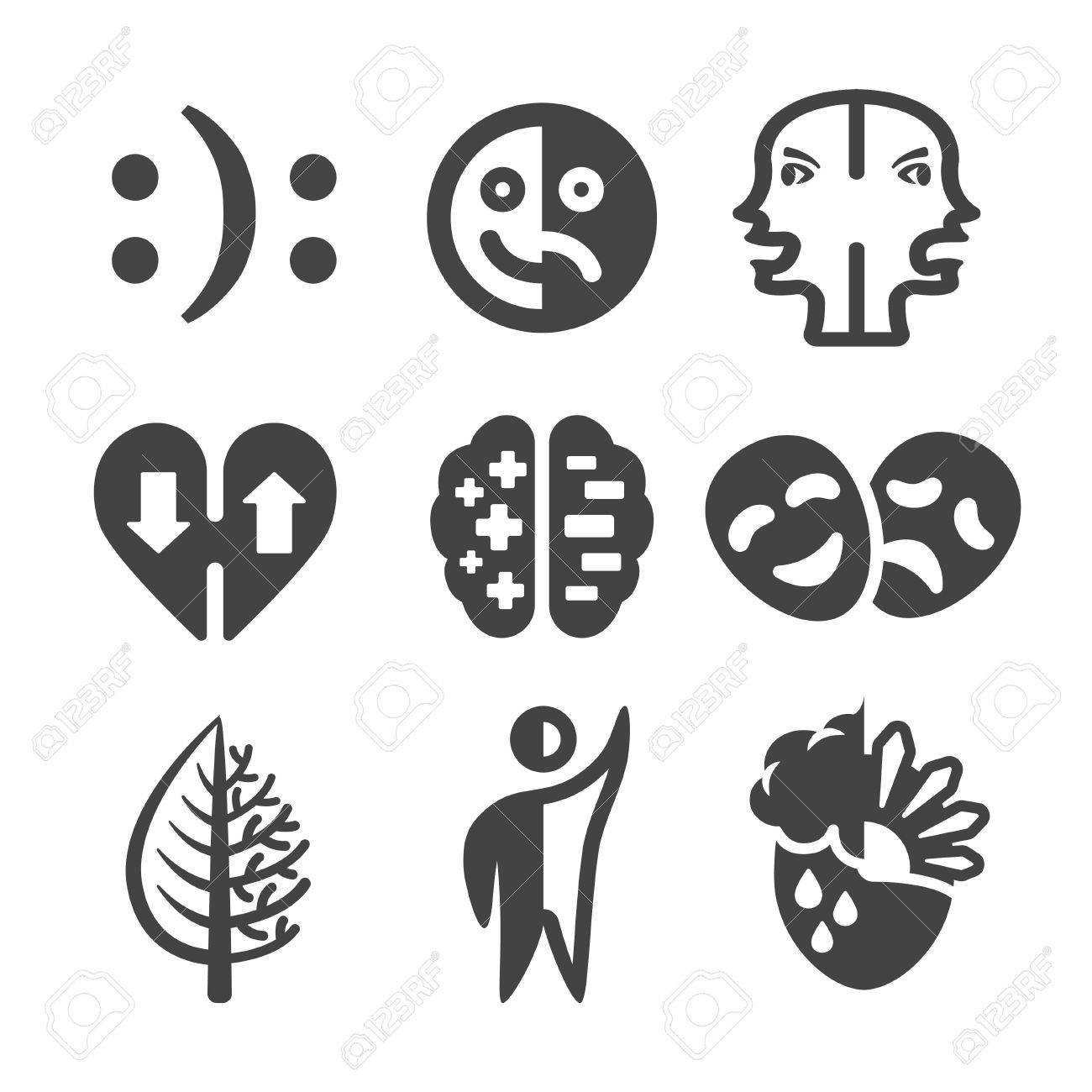 Bipolar disorder icon royalty free cliparts vectors and stock bipolar disorder icon stock vector 84685940 biocorpaavc Gallery