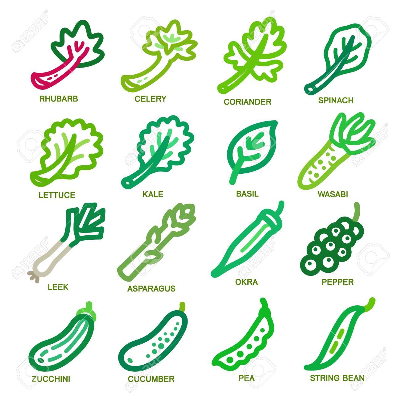vegetable thin line icon set,vector illustration - 85060777
