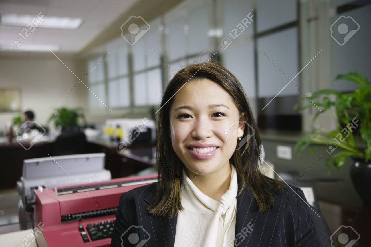 Businesswoman looking at camera Stock Photo - 16070542