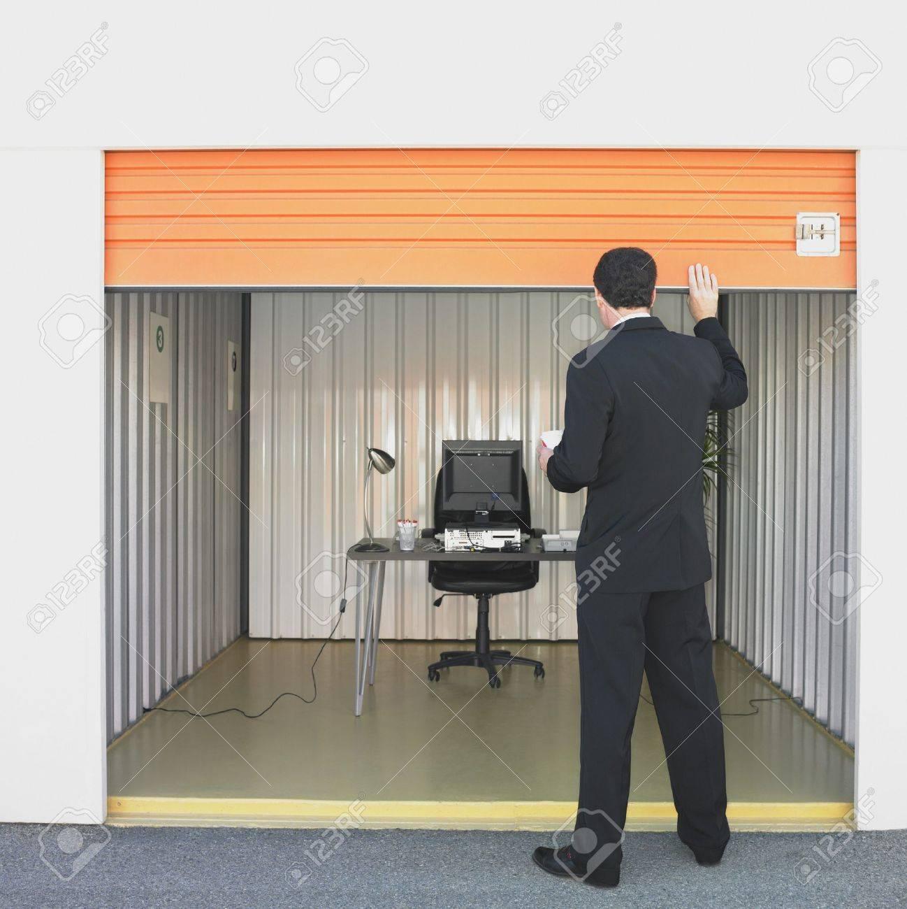 Storage Unit Office
