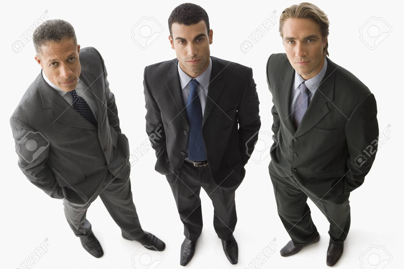Portrait of multi-ethnic businessmen Stock Photo - 16095310