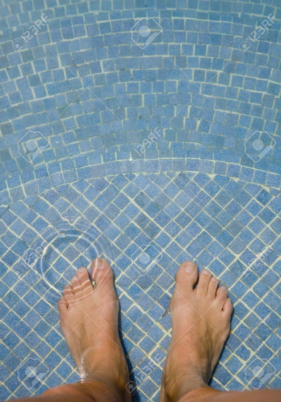Im schwimmbad geschichte nackt Erlebnis im