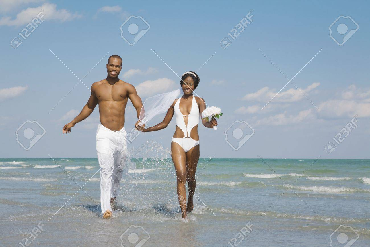 Beautiful Bride And Groom Bathing Suits Elaboration - Womens Dresses ...