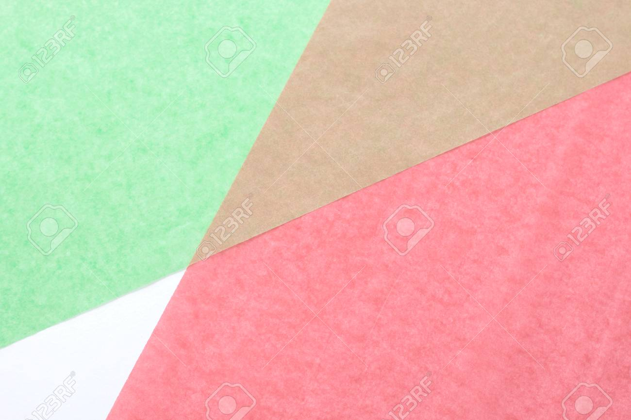 Creative Colorful Pastel Paper Background With Two Tone Color ...