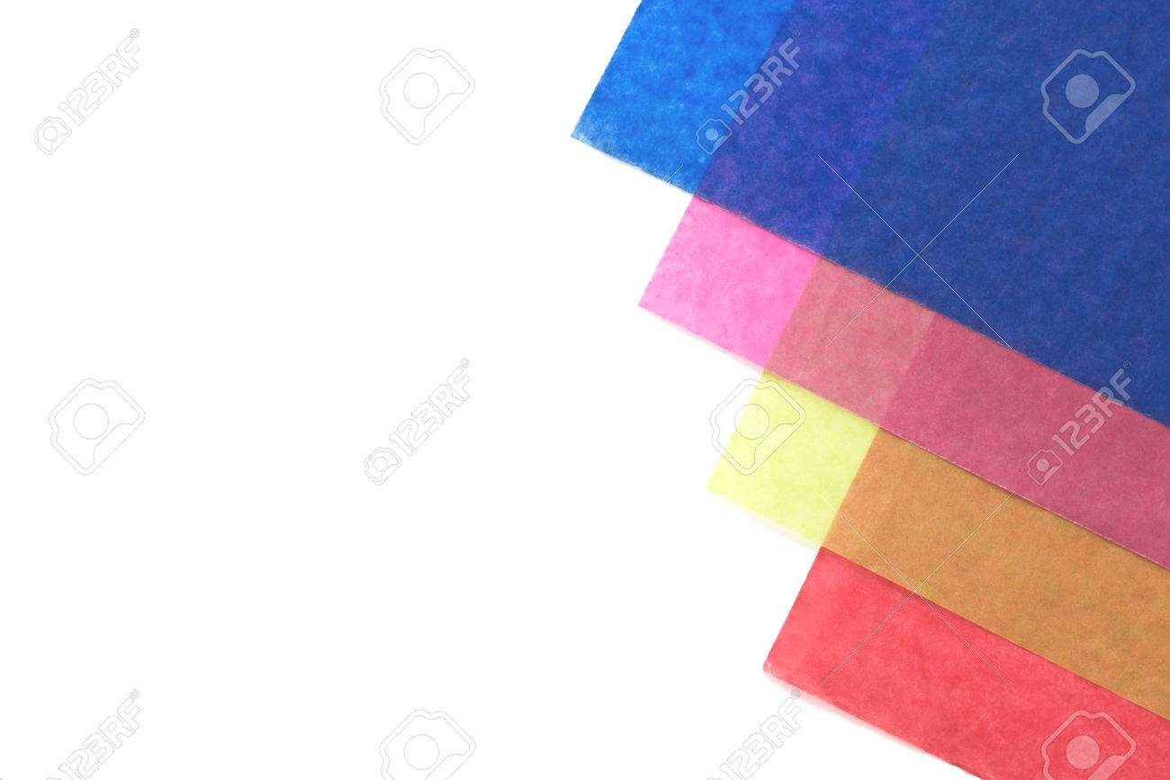 Creative Colorful Paper Background Cellophane Paper In Multicolored