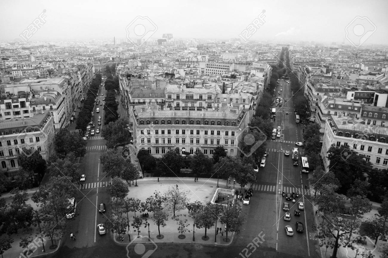 Streets of Paris Stock Photo - 17624207