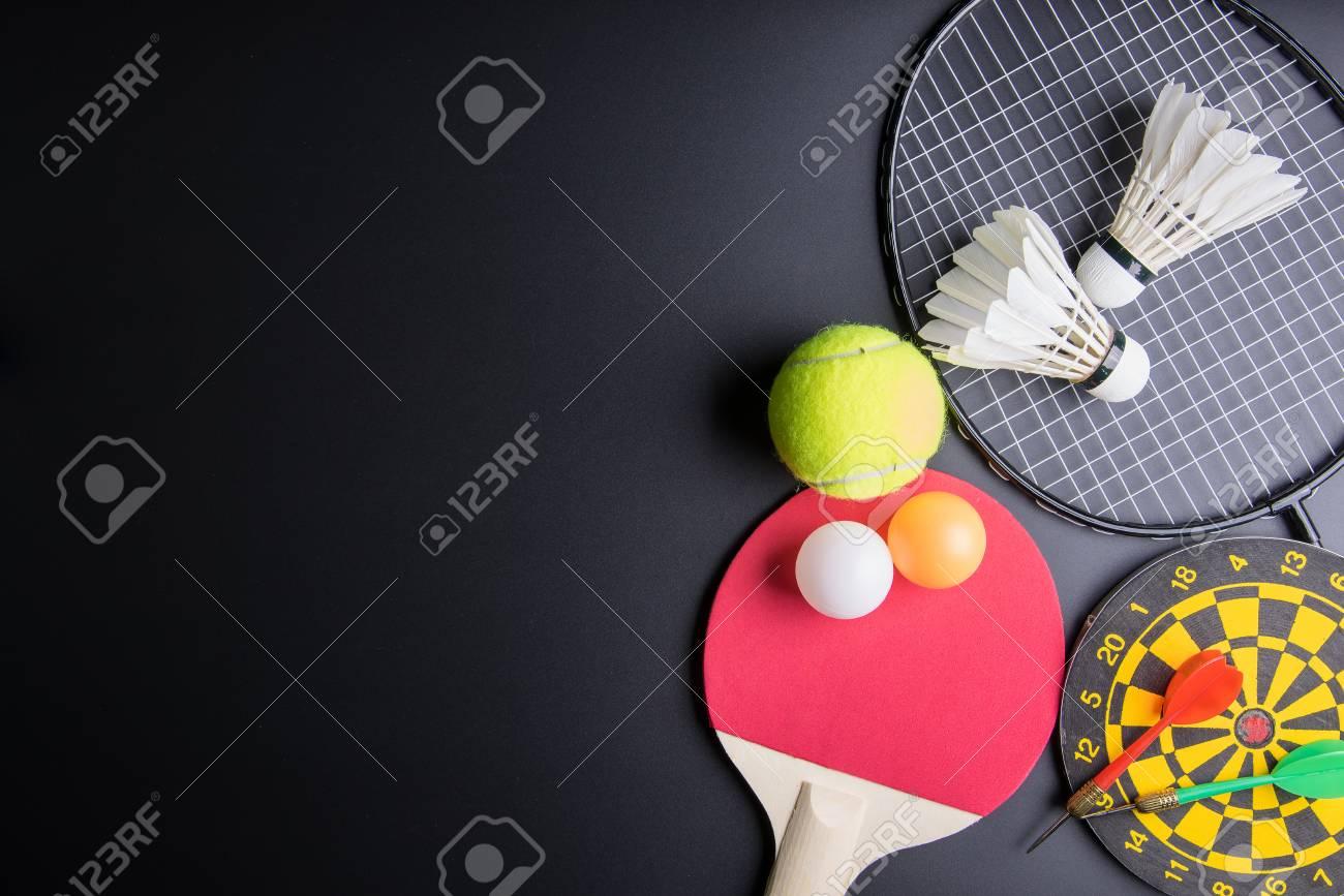 Dardos, Raqueta De Tenis De Mesa, Pelota De Ping Pong, Volantes ...