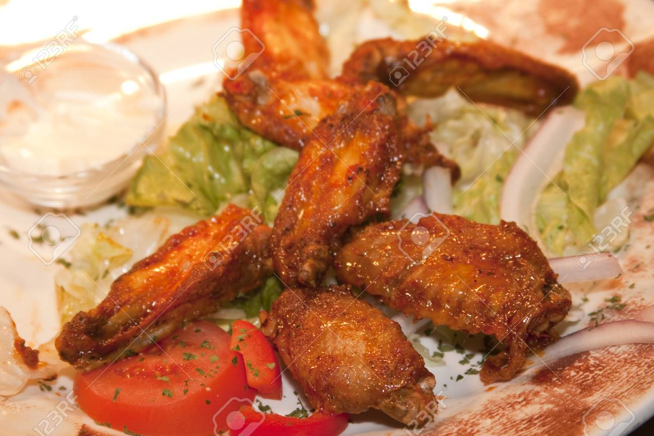 hot and spicy chicken wings Stock Photo - 10227129