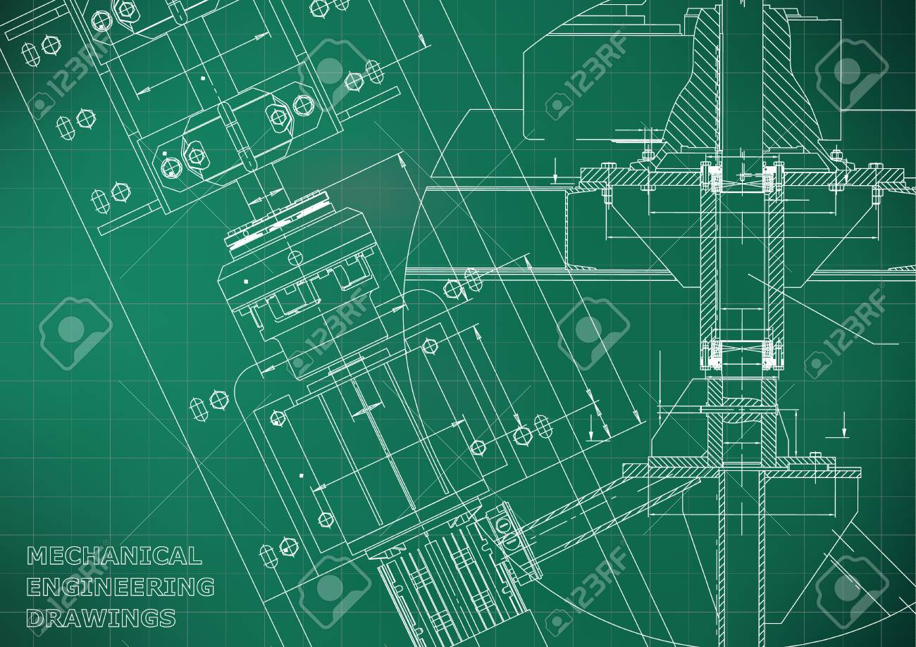 Blueprints mechanical engineering drawings technical design blueprints mechanical engineering drawings technical design cover banner light green malvernweather Gallery