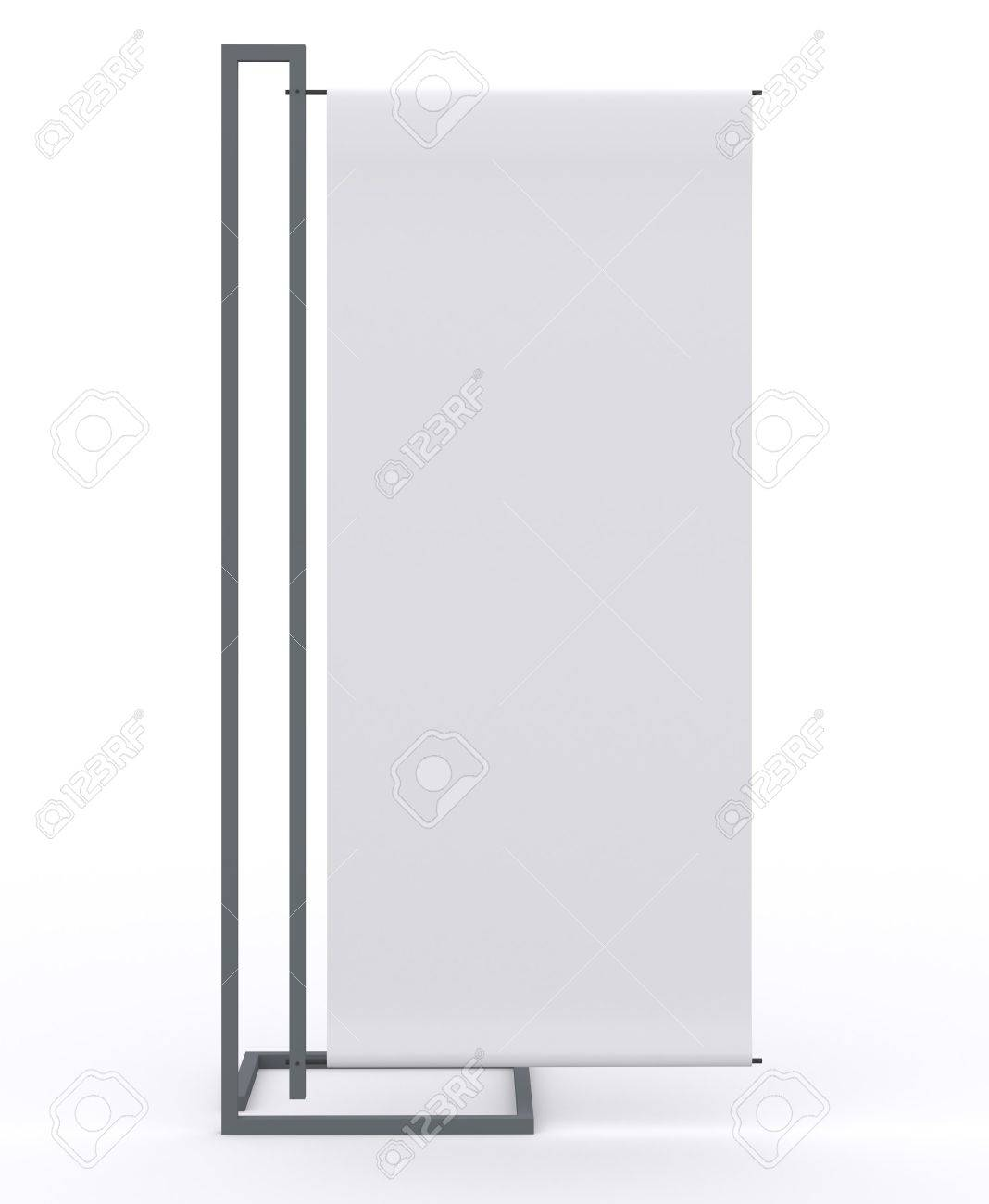 blank banner display new design aluminum frame template for design
