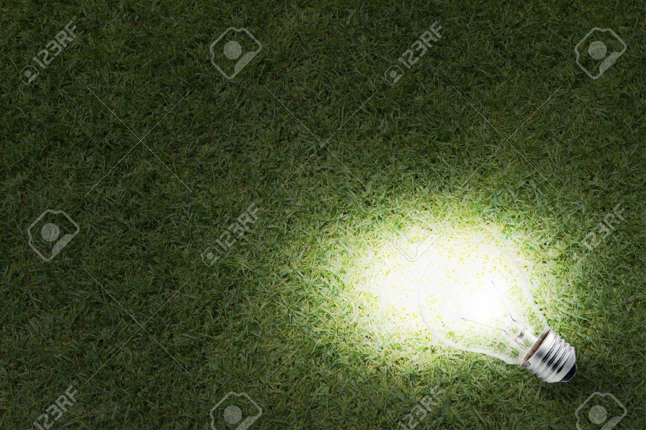 grass at night texture. Delighful Texture Eco Friendly Energy Light Bulb Glowing In The Grass At Night And Business  Concept Stock Photo Intended Grass At Night Texture E