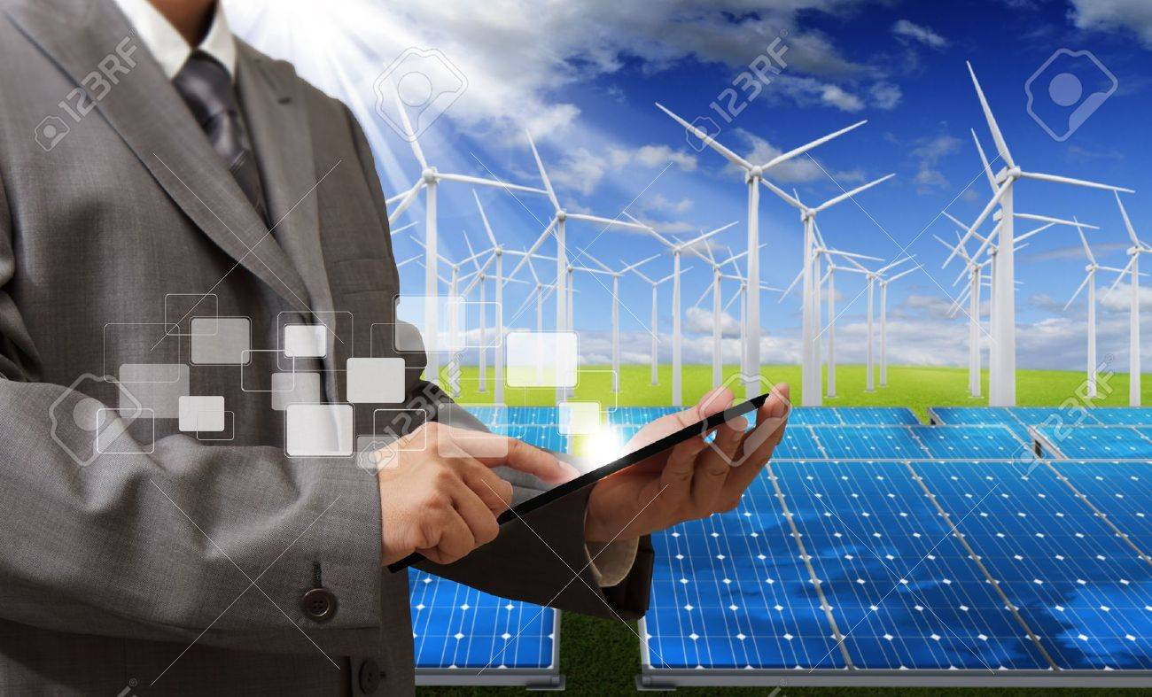 engineer checking with tablet computer Stock Photo - 13310317