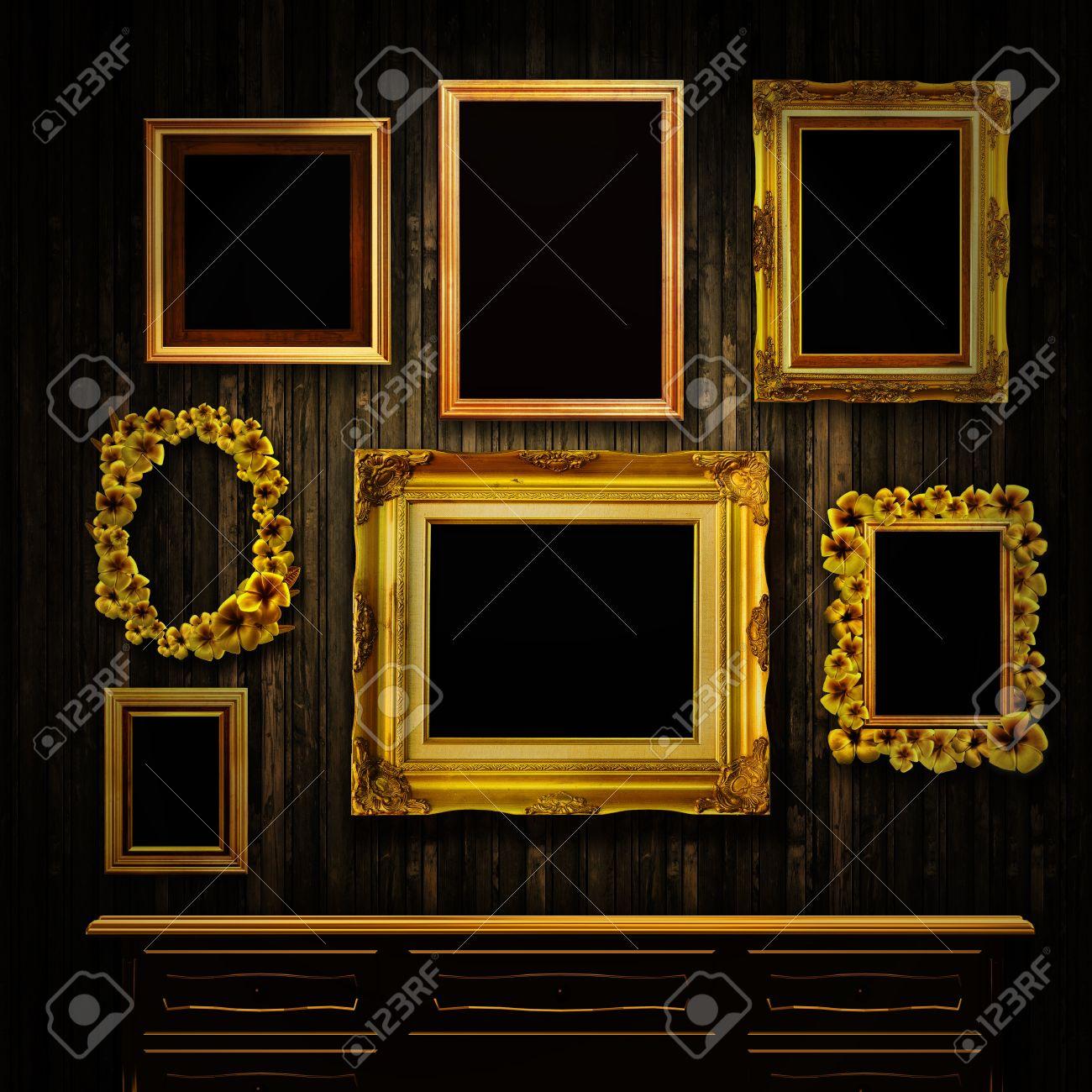 Galería De Pantalla - Marcos Antiguos De Oro Y Un Pecho De Cajones ...