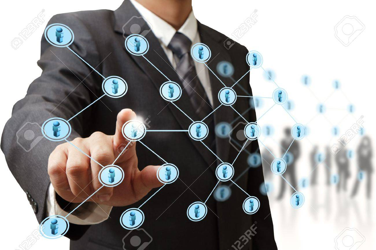 social network structure - 16096432