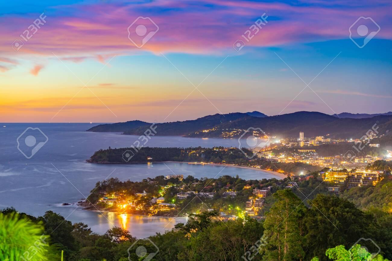 Sea Viewpoint Andaman Sea At Phuket Thailand. - 122009792