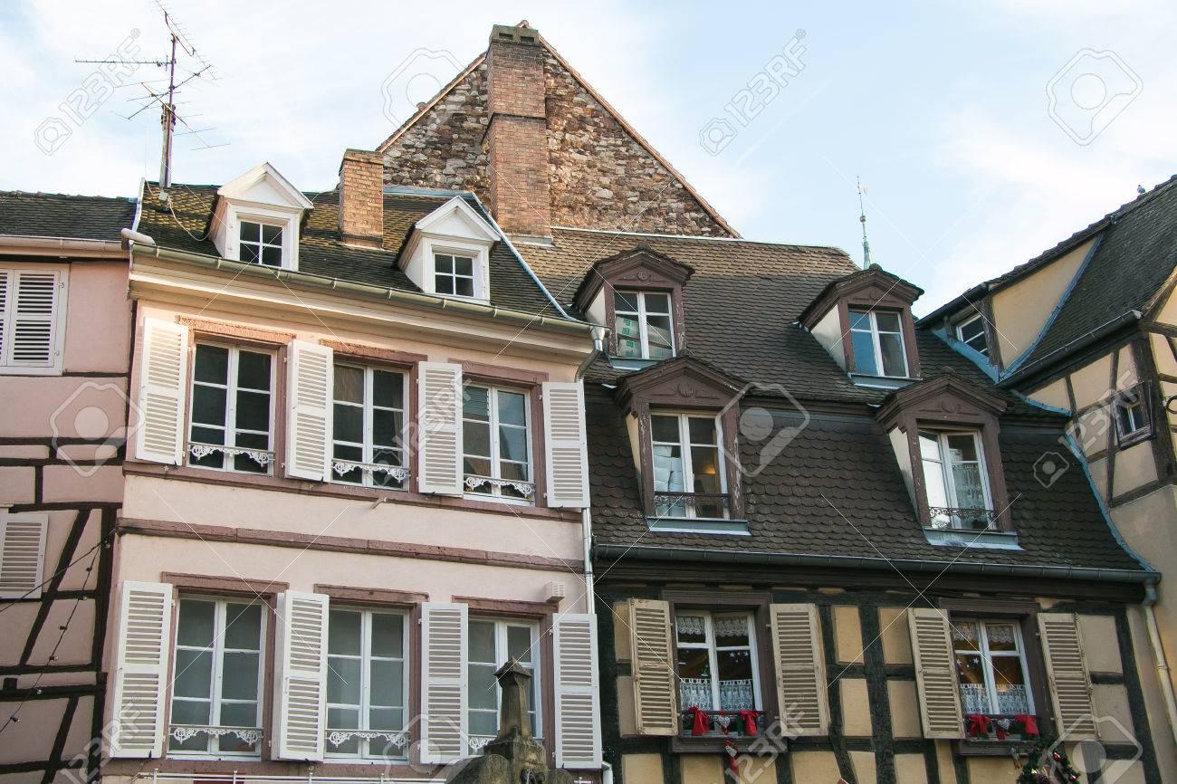 Moitie Typique Maison A Colombages Alsacienne Belle Decoration