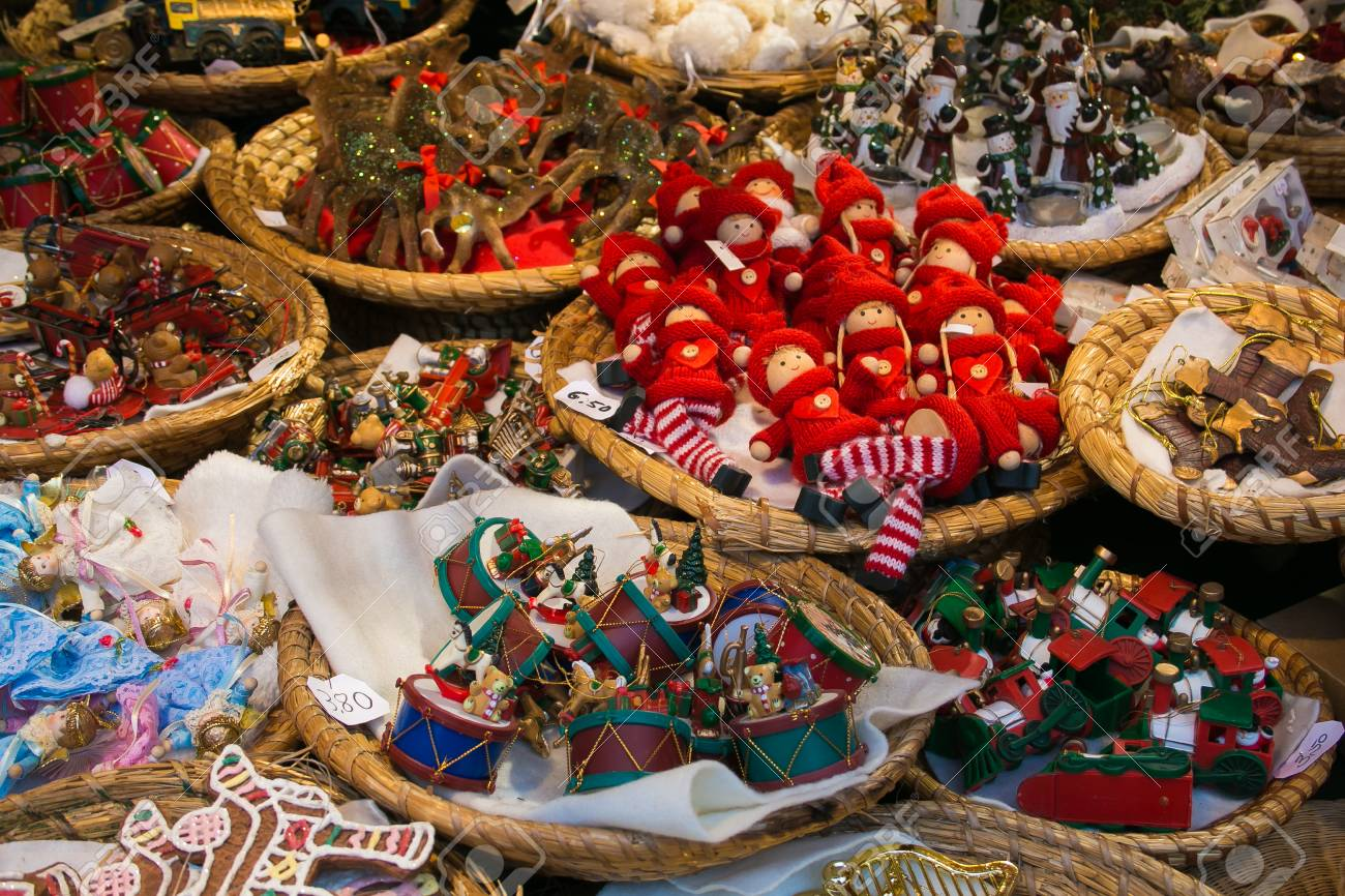 Christmas In Austria 2019.Salzburg Austria December 8 2019 Many Objects For Sale At