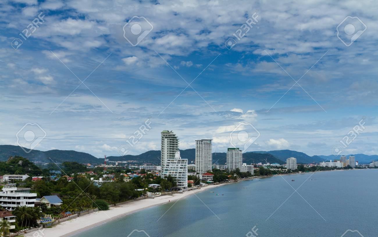 Hua-Hin beach, Thailand. Stock Photo - 15701556