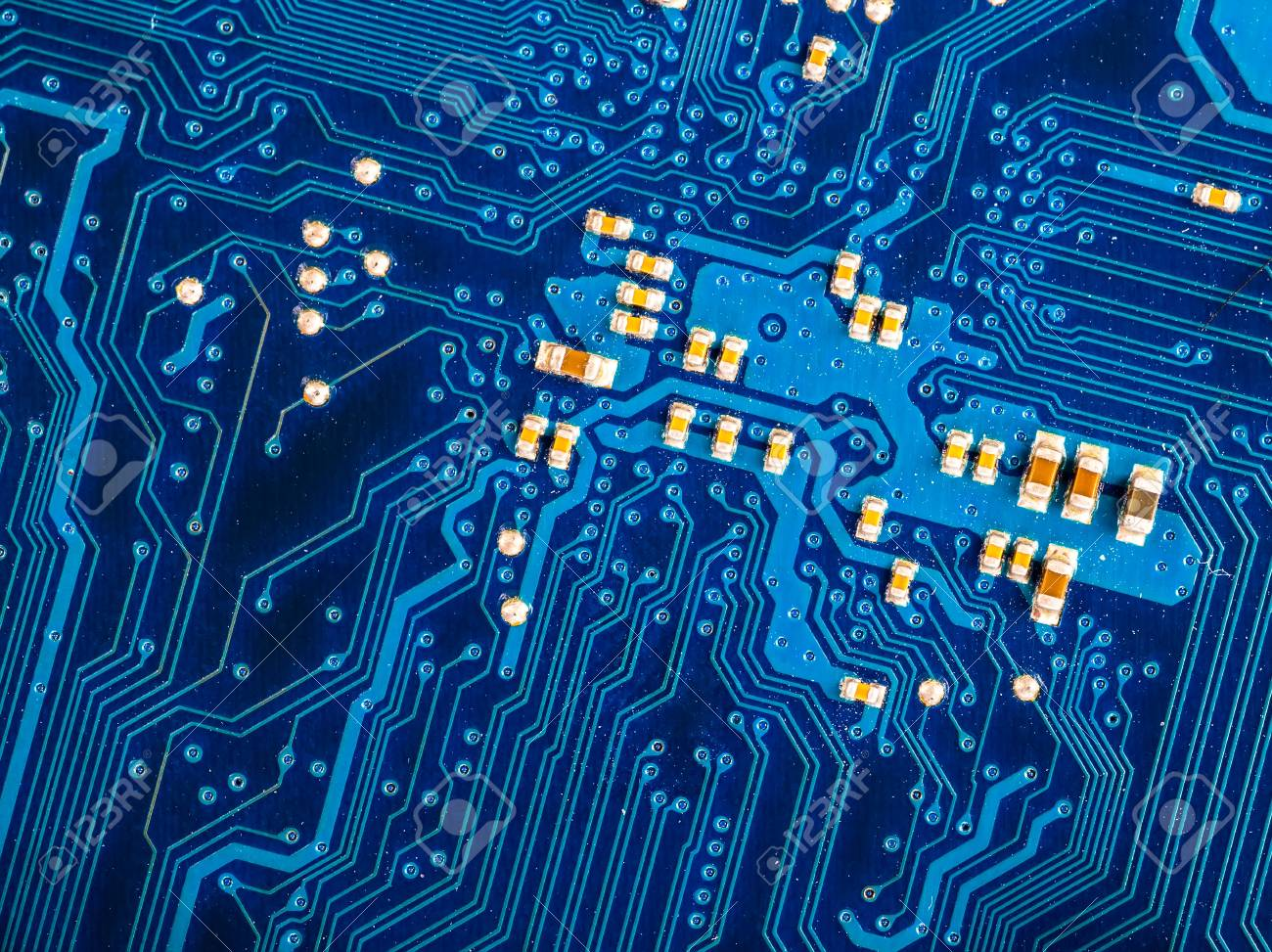 Computer Circuit Background Main Board Royalty Free Stock Photography Image Blue Of Motherboard Photo
