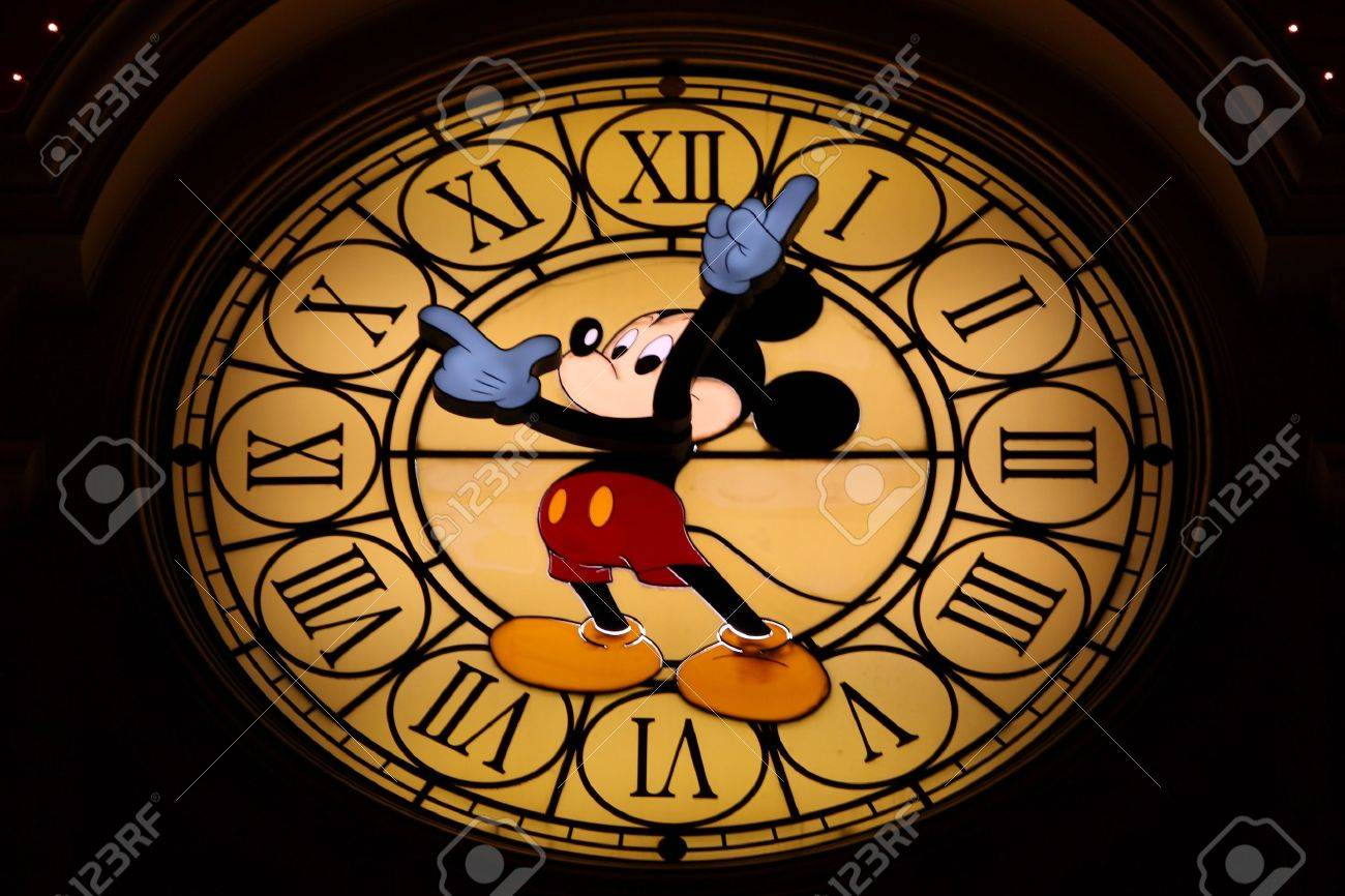 Mickey Mouse Clock Hands 2011 Mickey Mouse Clock